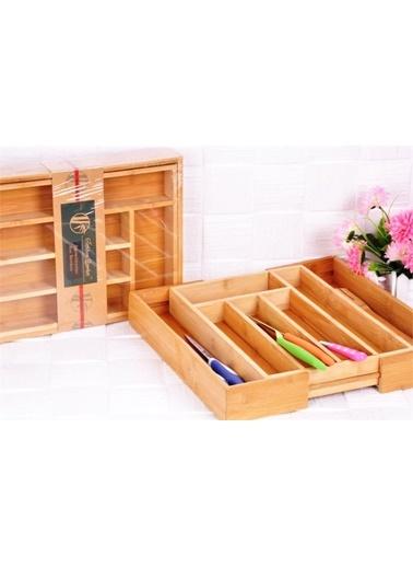 Bambu Çekmeceli Kaşıklık-Bayev